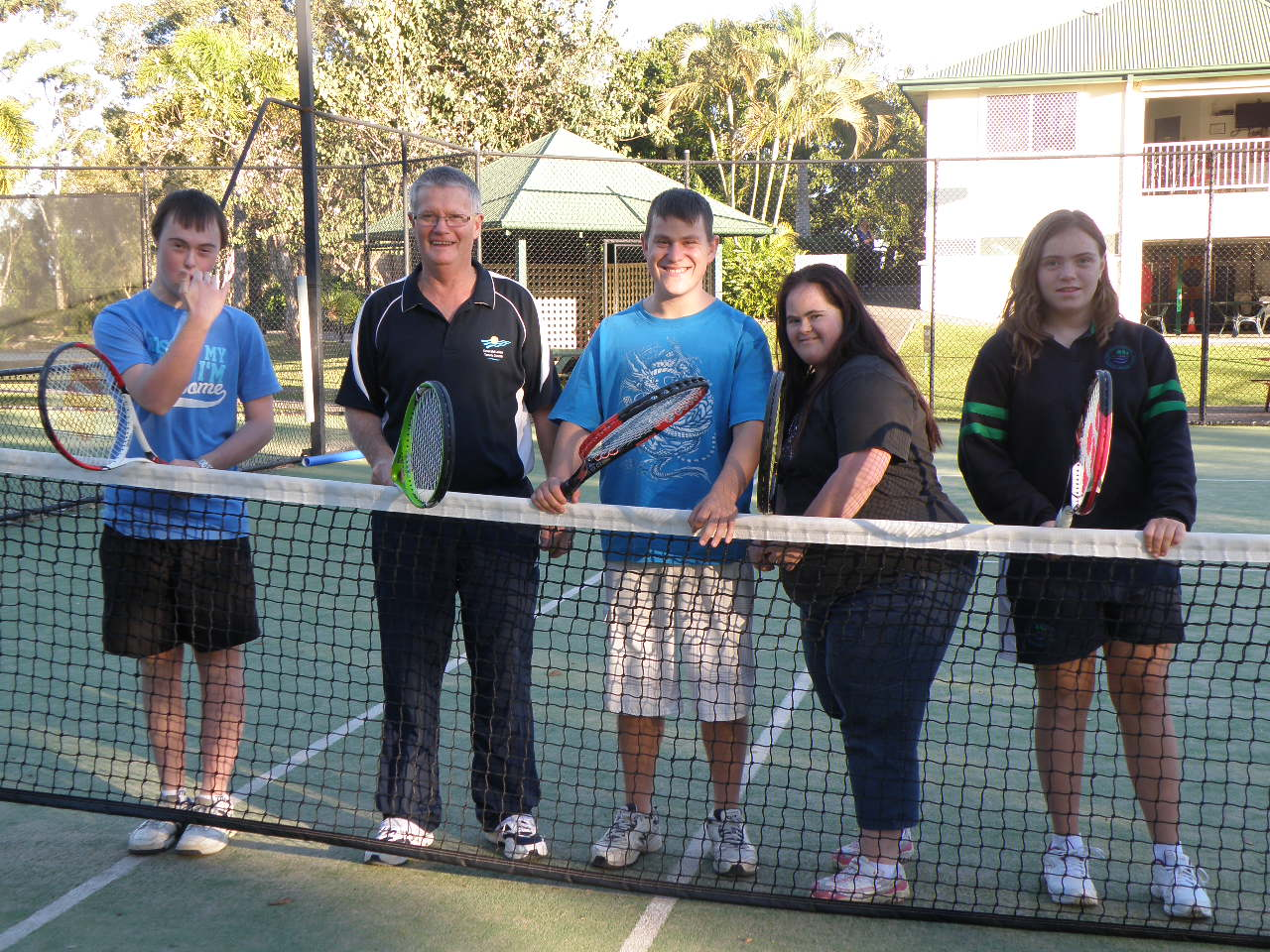 Peter Miller - Special Needs Tennis Coaching - Emerald Lakes Tennis Centre